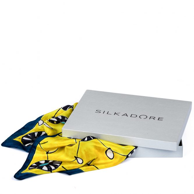 Gawroszka Żółte Parasolki w pudełku