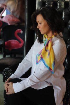 apaszka do białek koszuli