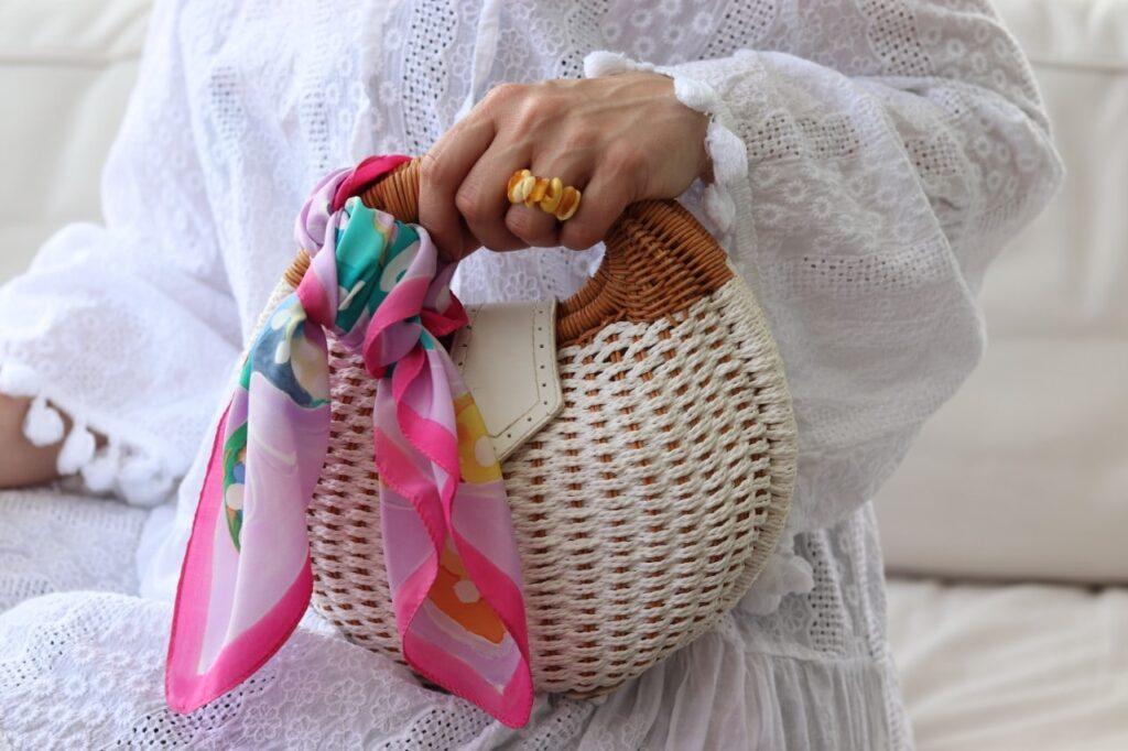 mała apaszka do torebki