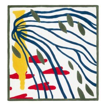 jedwabna apaszka Chopin ręcznie malowana